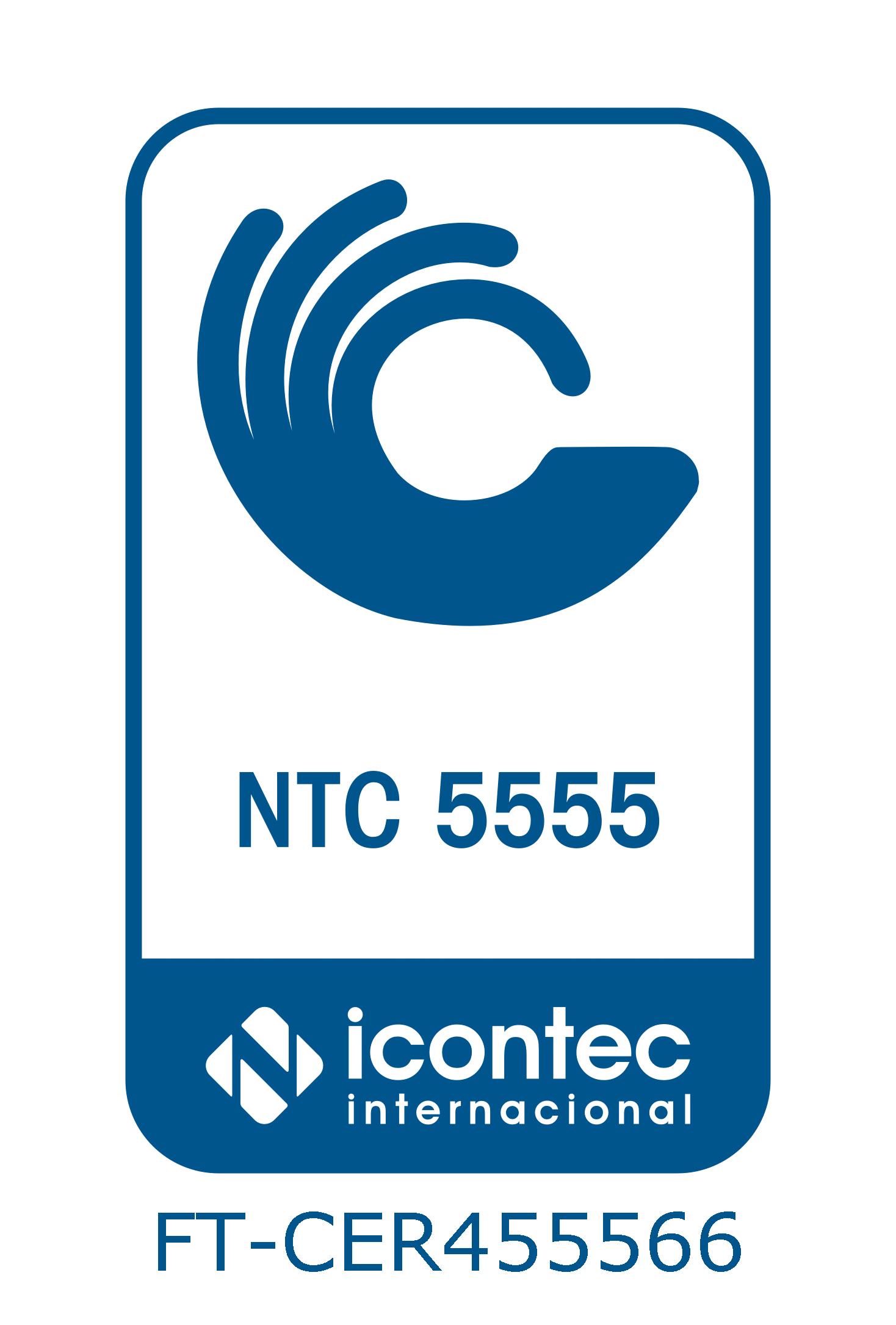 logo de ntc 5555